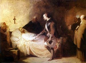 Cano de la Peña agonía de Cervantes
