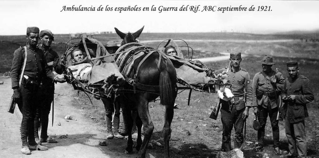 Mulo-ambulancia