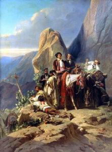 Giraud El viaje a España