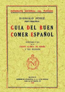 Guía del buen comer español
