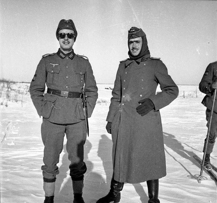 Soldados de la División azul 1942