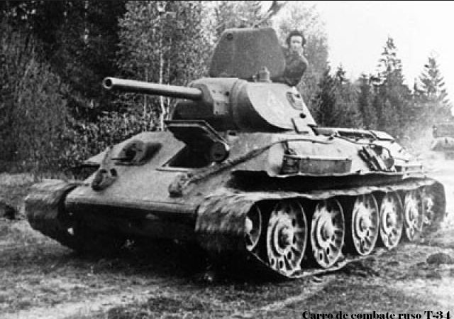 Tanque ruso T-34