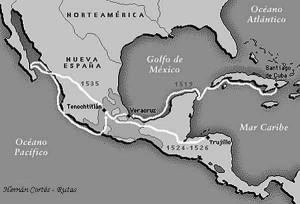 Cortés_Ruta_Cuba-Tenochtitlan3