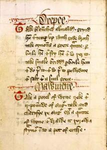 Página del Forme of Cury