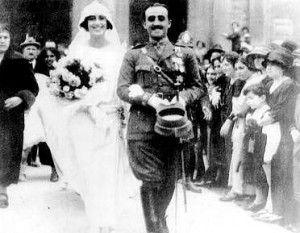BODA DE CARMEN POLO Y FRANCISCO FRANCO