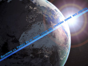El bello planeta azul