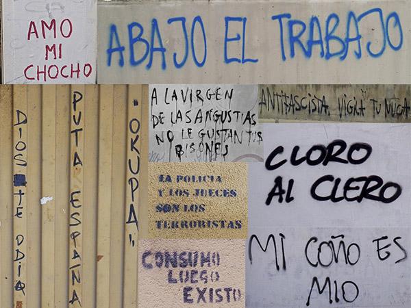 REFLEXIONES A PROPÓSITO DE UNAS PINTADAS